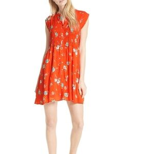 Free People Greatest Day red mini dress
